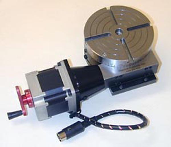 sherline 8730 cnc rotary table with stepper motor