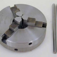 3-Jaw and 4-Jaw Self-Centering Chucks