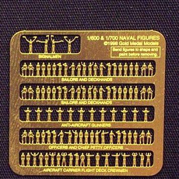 Gold Medal Models WORLD WAR TWO USN CRUISER / DESTROYER (UPGRADED!)