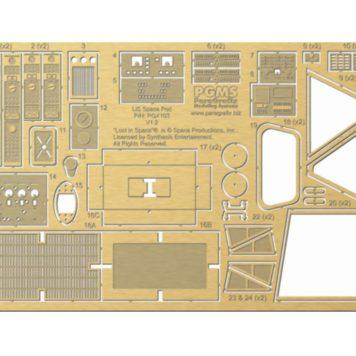Paragrafix SPACE POD PHOTO-ETCHED ENHANCEMENT SET PGX103
