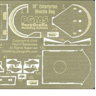 Paragrafix PGX108 Shuttlecraft Hangar