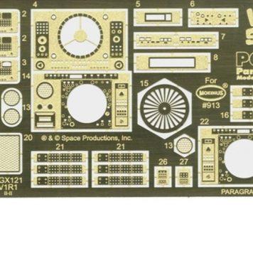 Paragrafix PGX121 Jupiter 2 Photoetch and Decal Set