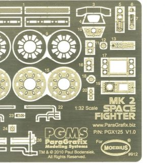 Paragrafix PGX125 Viper Mk 2 Photoetch & Decal Set