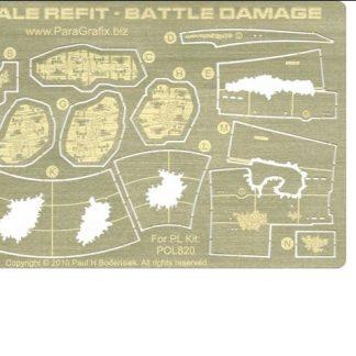 Paragrafix PGX131 Refit Enterprise Battle Damage (1:1000 scale