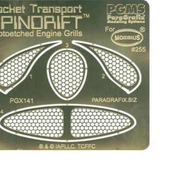 Paragrafix PGX141 Spindrift Photoetched Engine Grills