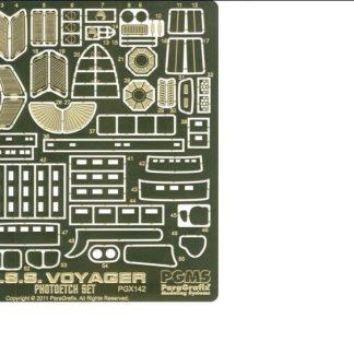 Paragrafix PGX142 USS Voyager Photoetch Set