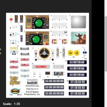 Paragrafix Jupiter 2 Photoetch and Decal Set