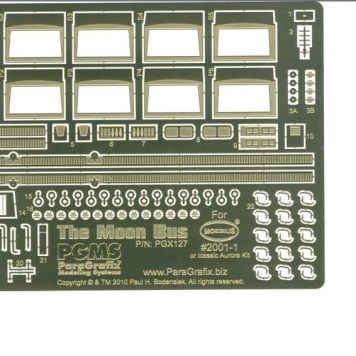 Paragrafix PGX127 Moon Bus Photoetch Set