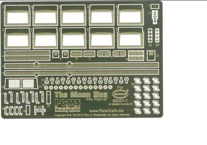 Paragrafix PGX127 Moon Bus Photoetch Set