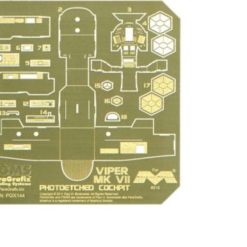 Paragrafix PGX144 Viper Mk 7 Photoetched Cockpit