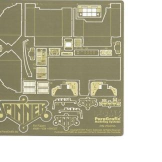 Paragrafix PGX155 Spinner Photoetch Set