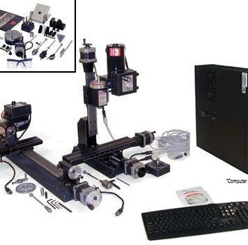 Sherline Deluxe Ultimate CNC Machine Package 8600