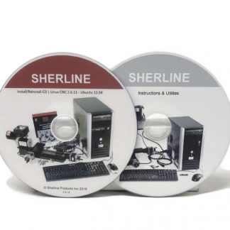 Sherline Linux/EMC CNC software on CD 8326