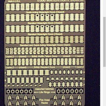 Gold Medal Models 1/350 Watertight Doors