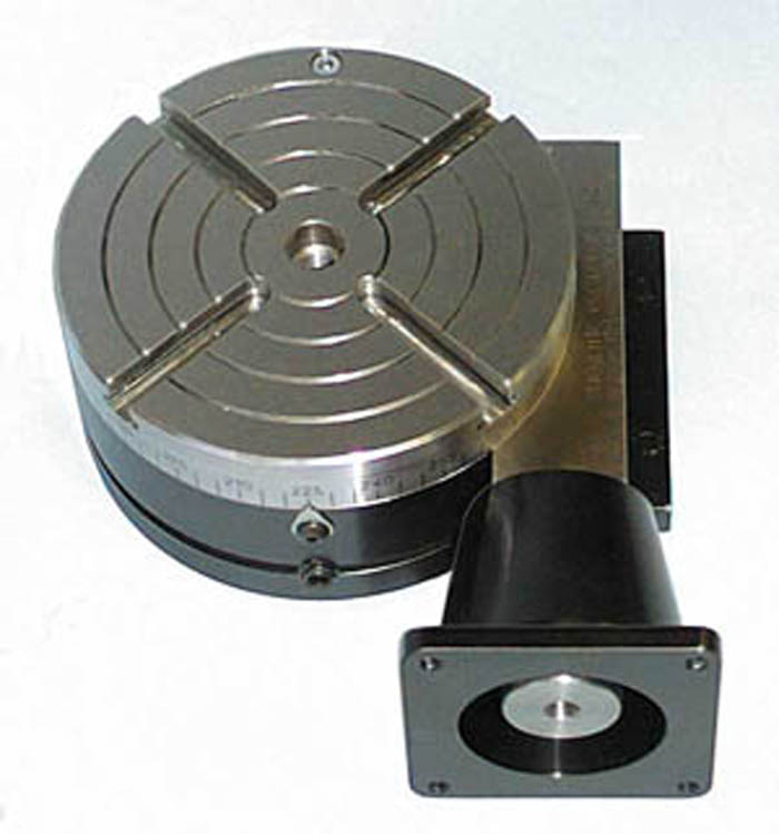 Sherline 3700 cnc ready rotary table with motor mount for Cnc rotary table with stepper motor