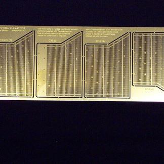 Gold Medal Models ENTERPRISE ELEVATOR PLATFORMS etches