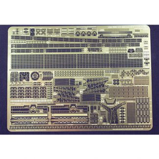 Gold Medal Models 1/350 MASSACHUSETTS and ALABAMA 350-41 Photoetch