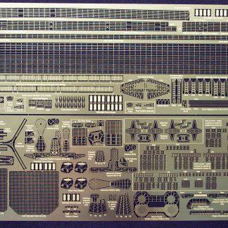 Gold Medal Models 1/350 UDALOY Photoetch Set etch