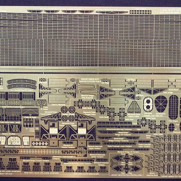 Gold Medal Models 1/400 Scale WW2 GERMAN WARSHIP 400-5 Photoetch