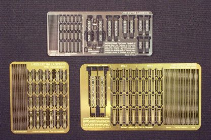 Gold Medal Models 1/400 scale EXTRA LADDERS 400-6 Photoetch