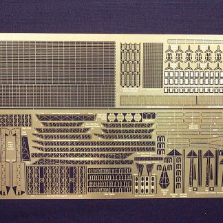 Gold Medal Models 1/400 - 1/450 scale AKAGI 450-8 Photoetch