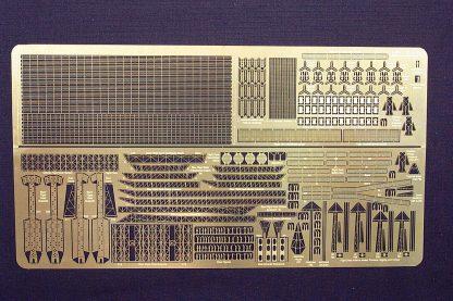 Gold Medal Models 1/400 - 1/450 scale AKAGI 450-8 Photoetch