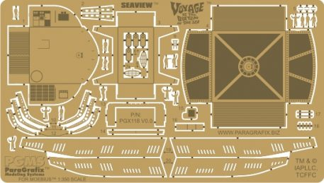 VcsHobbies carries Paragrafix photoetched parts to enhance your model spaceships
