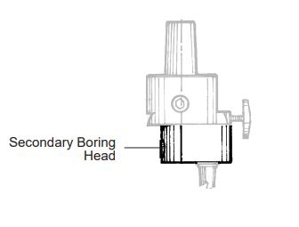 Secondary Boring Head 1.24 inch