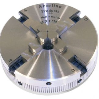 Sherline 4 Jaw Chuck 3.1 Inches ER-16 1078