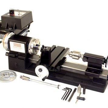 Sherline Standard Lathe Package w/Adjustable Handwheels Package A 4500A