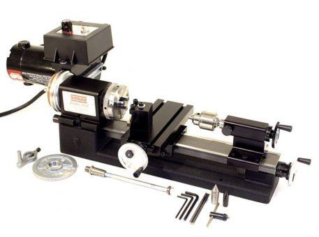 Sherline Standard Lathe Package w/Adjustable Handwheels Package A 4500A