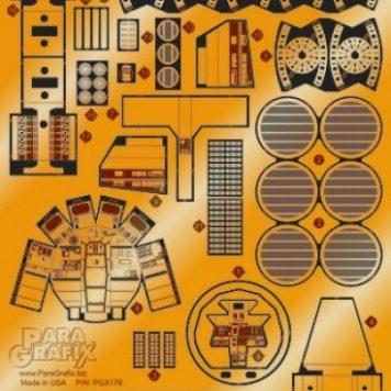 Paragrafix PGX180 Millennium Falcon Photoetch Set