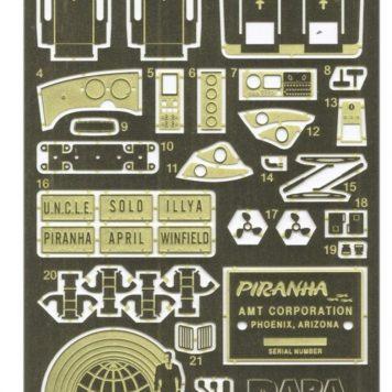 Paragrafix Piranha Super Spy Car Photoetch & Decal Set PGX192