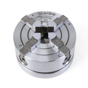 Sherline 2.5 Inch 4 Jaw Independent Chuck 12 x 1mm 1071