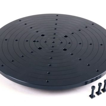 Sherline 12 Inch 3D Scanning Plate for CNC Rotary Table 3728LAZ