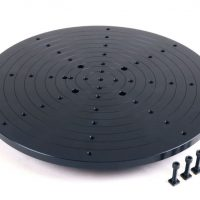 Sherline 8 Inch 3D Scanning Plate for CNC Rotary Table 3726LAZ
