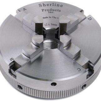 Sherline Self-Centering Chuck 2.5 Inch, 12mm x 1mm Thread 1077