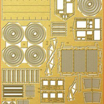 Paragrafix PGX196 M.L.E.V.-5 Photoetch Set