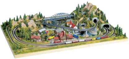 Z Scale Rokuhan Cortina track Set