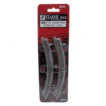 Rokuhan R002 Curved Track R195 45 Degree