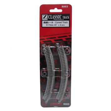 Rokuhan R003 Curved Track R170 45 Degree
