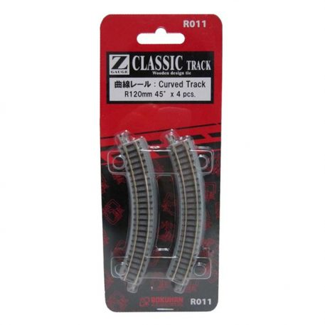 Rokuhan R011 Curved Track R120 45 Degree