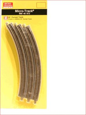 Micro Trains 990 40 913 Curved Track