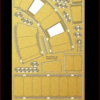 Paragrafix PGX197 DeAgostini Falcon Corridors Photoetch Set
