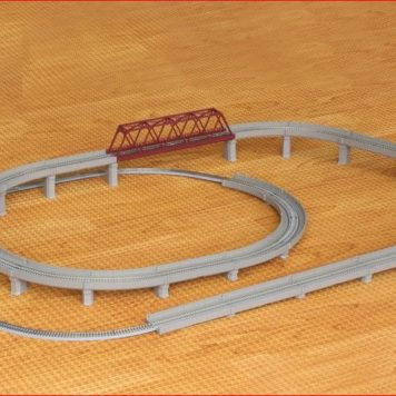 Rokuhan R063 Rail Set D Seperation Set