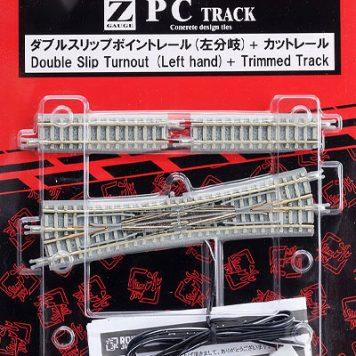 Rokuhan R068 PC Double Slip Turnout LH Concrete