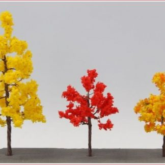 Rokuhan S002 Autumn Scenery Tree Set A