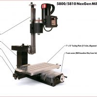 NexGen Vertical Mill (Metric)