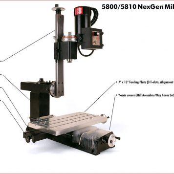 NexGen Vertical Mill (Metric)