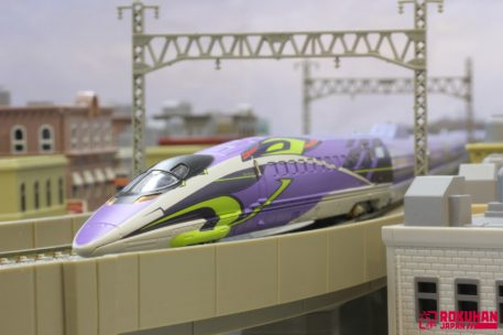 500 Series Shinkansen Evangelion Rokuhan 3-Car Set T013-4